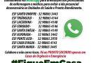 Telefones unidades ESF de Carangola